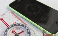 Цифровой компас iPhone 5s ни разу не смог точно указать на Север