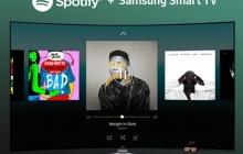 Smart TV от Samsung получили безлимитный доступ к Spotify