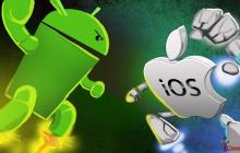Эта вечная борьба: iOS vs Android