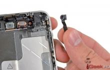 Почему необходима замена передней камеры на iPhone 5s