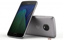 Анонсированы смартфоны Moto G5 и Moto G5 Plus