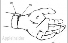 Apple подала патент на iWatch