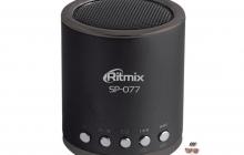 Одна из самых громких акустических мини-систем — Ritmix SP-077