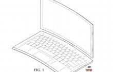 Intel запатентовала изогнутый ноутбук