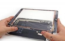 Самостоятельная замена стекла на iPad