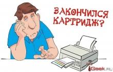 Заправка лазерных принтеров – услуга, которую должны проводить специалисты