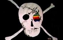 Дизайнер Macintosh продает легендарный пиратский флаг Apple