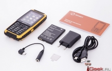 Новый защищенный телефон SENSEIT P101