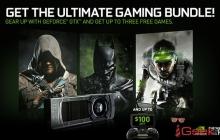 Nvidia презентовала комплект GeForce GTX с бесплатными играми
