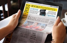 Apple разрабатывает гибкую электронную газету