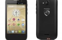 Новый смартфон Prestigio MultiPhone 3404 DUO