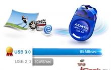 ADATA представила новый USB флэш-накопитель UD311 с интерфейсом USB 3.0