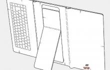 Samsung запатентовал складной планшет