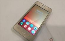 Характеристики бюджетного смартфона Samsung Z2