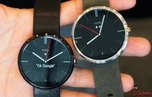 Часы Moto 360 показали на Google I/O