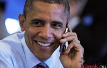 Обама: не могу использовать iPhone