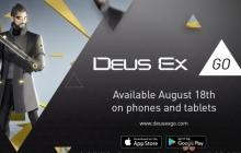 Объявили дату релиза игры для смартфонов Deus Ex GO