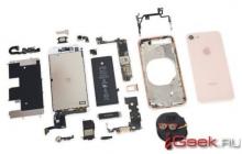 iPhone 8 сложно погнуть и относительно легко чинить