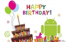 С днем рождения, Android! Мобильной ОС исполнилось 7 лет