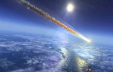 Жители Хакасии наблюдали падение метеорита