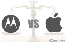 FTS на стороне Apple в споре с Motorola