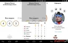 Яндекс выпустил приложение для болельщиков СОЧИ-2014