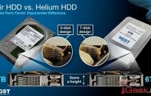 Western Digital выпустила жесткий диск с гелием, емкостью 6 терабайт