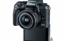 Canon представила EOS M5