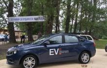 «АвтоВАЗ» показал прототип электромобиля LADA Vesta EV