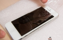 Как заменить стекло iphone 5?