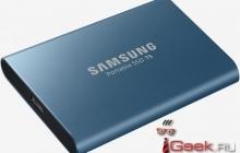 Samsung представила портативный твердотельный накопитель T5 объёмом до 2 Тб