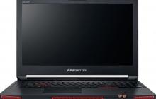 В России стартовали продажи ноутбука Predator 17 X