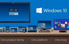 Microsoft представила операционную систему Windows 10 (Видео)