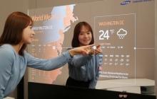 Samsung представил зеркальные дисплеи