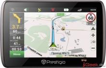 Prestigio GeoVision 5000 – новый ультратонкий навигатор
