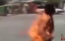 Взорвавшийся в кармане смартфон превратил хозяина в огненный шар