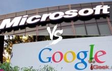 Microsoft обвинила Google в чтении электронных писем пользователей