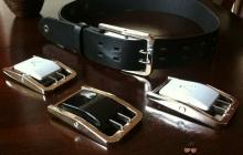 Пряжка для пояса — мобильное зарядное устройство