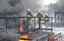 Пожарные Серовского и Сосьвинского районов выявили лучших по профессии