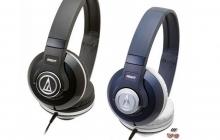 Audio-Technica выпустила серию недорогих наушников ATH-S100, ATH-S300, ATH-S500