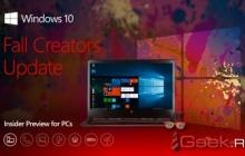 Windows 10 16299.15 доступна в канале обновлений Release Preview