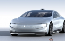 LeEco выпустит в США беспилотный электромобиль