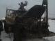 В Ларьковке огонь повредил «Урал»