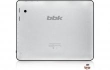 Первые планшеты от компании BBK