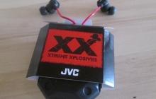 Обзор наушников JVC Xtreme Xplosives HA-FX1X