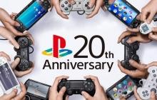 Консоль Sony PlayStation отметила 20-летний юбилей