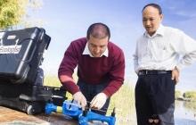 Инженеры тестируют дроны для забора образцов воды