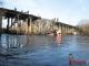 Канал НТВ заинтересовался историей в серовском селе Филькино, где упавший мост отрезал людей от цивилизации