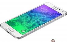 Состоялся анонс Samsung Galaxy Alpha