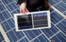 Во Франции построили дорогу из солнечных батарей